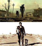 Mad max fallout 3 comparison