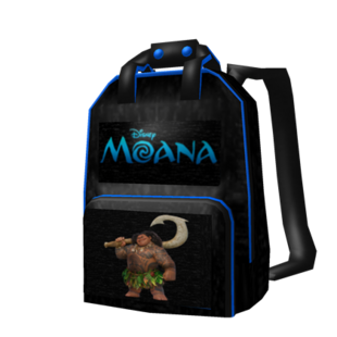 how to get the moana backpack on roblox