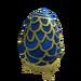 Blue Faberge Egg