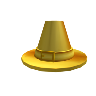 how to get pilgrim hat roblox