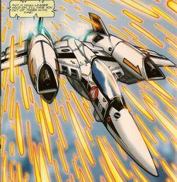 YF-4 in battle