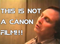 This is not a canon film