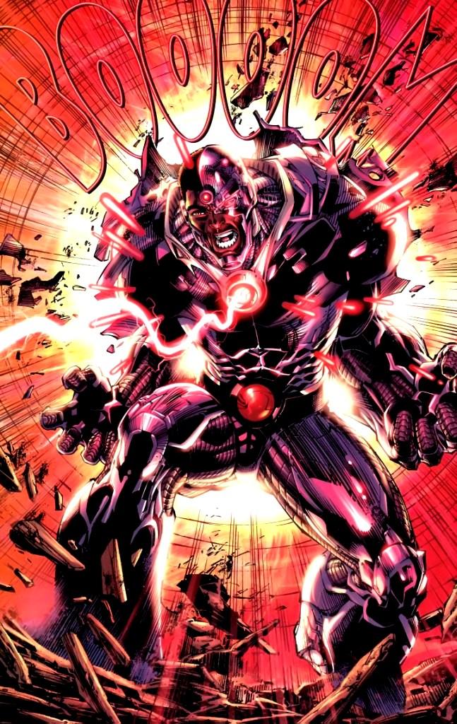 Iron Man Vs Cyborg Marvel Vs Dc 5 Comic Booger