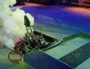 Dead metal pit tug of war