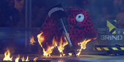 Burning diotoir