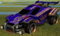 Tribal decal pink rare