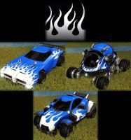 Flames 1 decal premium