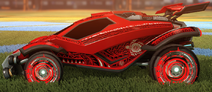 Tribal decal titanium white rare