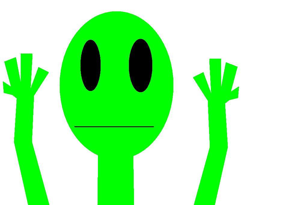 An alien!1