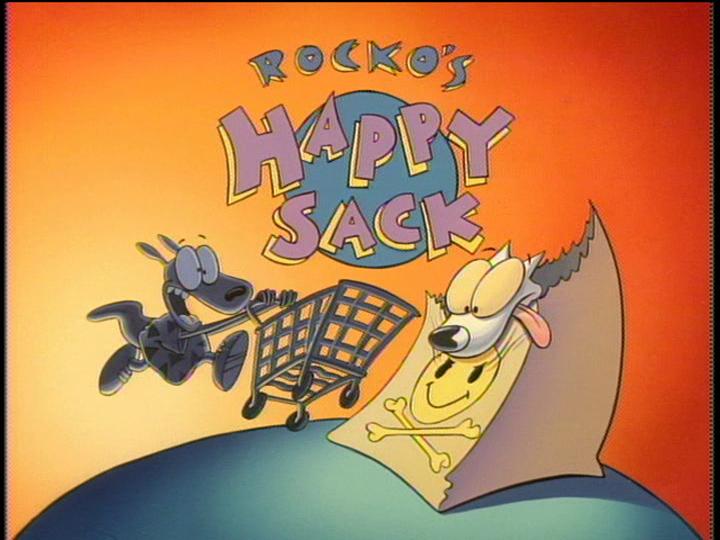 Rocko S Happy Sack Rocko S Modern Life Wiki Fandom