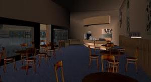 Tarbursh cafe interior 2