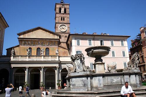 File:Santa Cecilia in Trastevere exterior.jpg