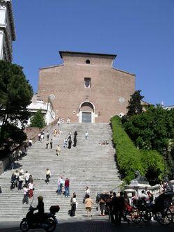 Santa Maria in Aracoeli facade