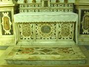 2011 Ambrogio, left transept altar frontal