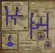 Estamir Tunnels map