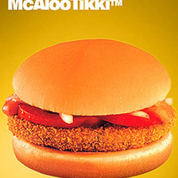 Image result for mcdonald aloo tikki