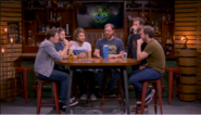 The main Achievement Hunter cast on set, Episode 7
