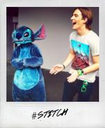 Rocky and stitch