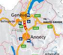 Autoroute française A41 (Saint-Julien-en-Genevois - Villy-le-Pelloux)