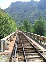 TrainJaune Voie Villefranche 01