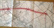 Antenne de Bagnolet 1946 - Tracé à Noisy-le-Sec