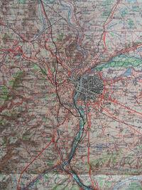 A6 1957 Projet de tracé à Lyon.JPG