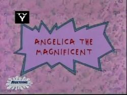 Angelica The Magnificent Title Card