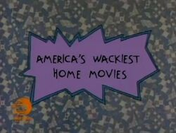 America's Wackiest Home Movies Title Card