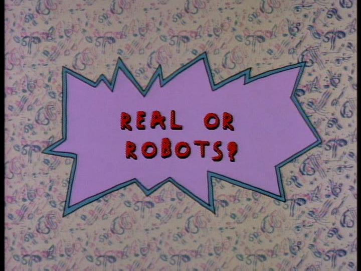 Real or robots rugrats wiki fandom powered by wikia