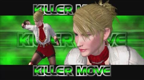 Rumble Roses XX - Miss Spencer Killer Move (Dynamic Punch)