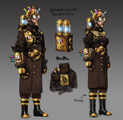 Mad Scientist Outfit concept art