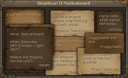 Death's message board