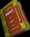 Illuminated Book of Chaos detail