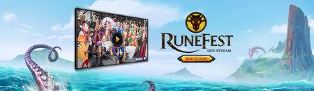 RuneFest 2016 Stream head banner