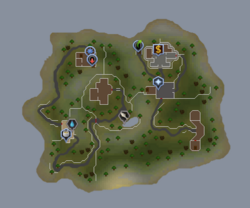 Tutorial Island map