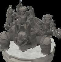 Basic tortoise statue
