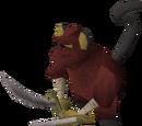 Monkey knife fighter