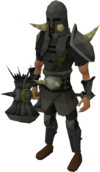 Torag the Corrupted's equipment set equipped