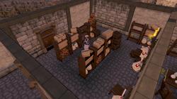 Warriors' Guild Food Shop