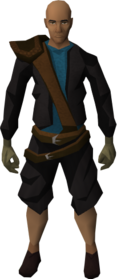 Brawling gloves (Hunter) equipped