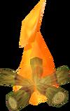 Arctic pine fire
