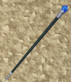 Black cane detail