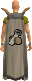 Retro construction cape equipped