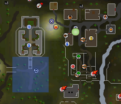 West of Edgeville skirmish location