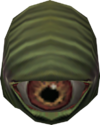 Fighter hat detail