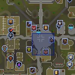 Market guard (Varrock) location