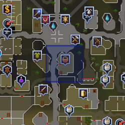 Shopkeeper (Varrock) location