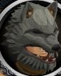 Werewolf mask chathead