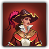 Eastern Captain's outfit icon (female)