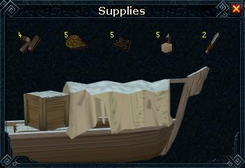 Ruined Boat stock